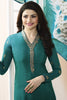 Designer Straight Cut:atisundar radiant Green Designer Party Wear Straight Cut Featuring Prachi Desai - 13560 - click to zoom