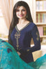 Designer Straight Cut:atisundar gorgeous Blue Designer Party Wear Straight Cut Featuring Prachi Desai - 14230 - click to zoom
