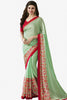 Designer Saree:atisundar fascinating Designer Party Wear Saree Featuring Prachi Desai in Green  - 13738 - click to zoom