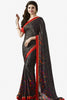 Designer Saree:atisundar exquisite Designer Party Wear Saree Featuring Prachi Desai in Black  - 13742 - click to zoom