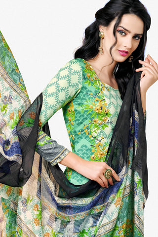 Designer Straight Cut:atisundar wonderful Green Designer Party Wear Straight Cut - 12983