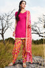 Designer Straight Cut:atisundar splendid Pink Designer Party Wear Straight Cut - 12967 - click to zoom