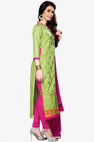 Designer Straight Cut:atisundar admirable Green Designer Party Wear Straight Cut - 12932