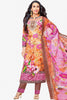 The Karishma Kapoor Collection:atisundar delicate Orange And Pink Pure Lawn Cotton Designer Suits Featuring Karishma Kapoor - 10165 - click to zoom