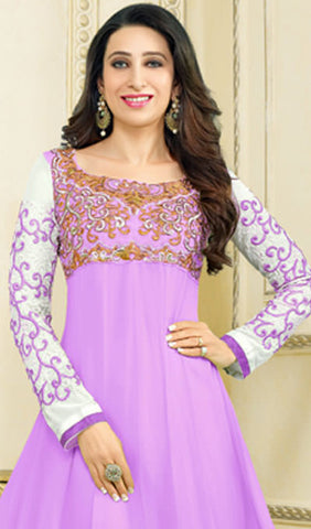 The Karishma Kapoor Collection:atisundar wonderful Light Purple Anarkali - 9884 - atisundar - 2