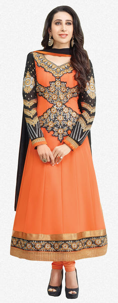 The Karishma Kapoor Collection:atisundar divine   in Orange - 5090 - atisundar - 1 - click to zoom