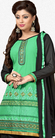 Designer Patiala Suit:atisundar magnificent Green Designer Patiala Suits - 7088 - atisundar - 3