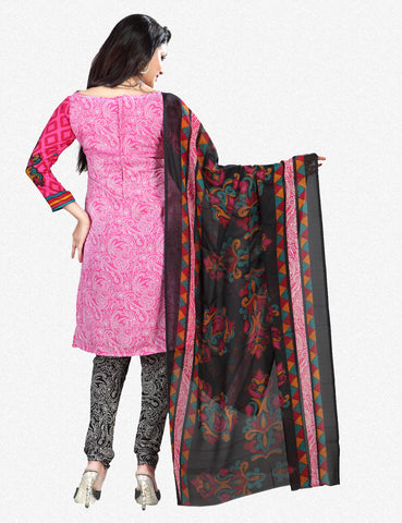 Printed Suits:atisundar Alluring Pink Designer Printed Unstitched Suits - 6952 - atisundar - 3