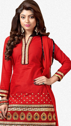 Designer Patiala Suit:atisundar charming Red Designer Patiala Suits - 7095 - atisundar - 3 - click to zoom