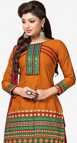 Designer Patiala Suit:atisundar delicate Brown Designer Patiala Suits - 7098 - atisundar - 3