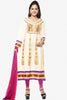 atisundar Surama: Splendid Unstitched Salwar Kameez In Cotton - 3033 (featuring Sonal Chauhan) - click to zoom