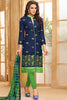 Designer Straight Cut:atisundar Awesome Blue Designer Party Wear Straight Cut  - 13961 - click to zoom