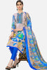 Printed Straight Cut Suits with Dupatta:atisundar stunning Multi Designer Cotton Printed Salwar Suit - 15477 - click to zoom