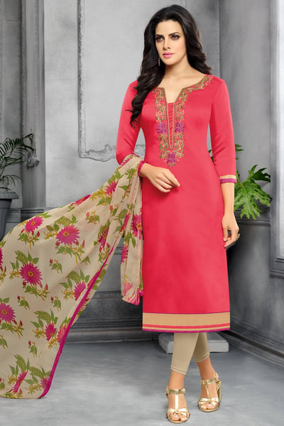 Designer Straight Cut:atisundar angelic Red Designer Party Wear Straight Cut - 13797 - click to zoom