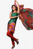 Elegant Print Green Unstitched Salwar Kameez By atisundar - 3152 - click to zoom