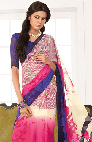 atisundar Bewitching Pink Colored Saree - 3284 - atisundar - 4