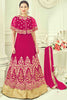 Designer Anarkali:atisundar ravishing Pink Designer Party Wear Anarkali - 13510 - click to zoom
