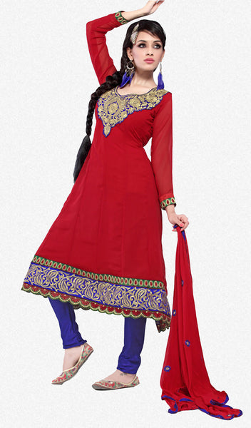 atisundar Chanda: Refined Unstitched Embroidery Salwar Kameez - 3441 - atisundar - 1 - click to zoom
