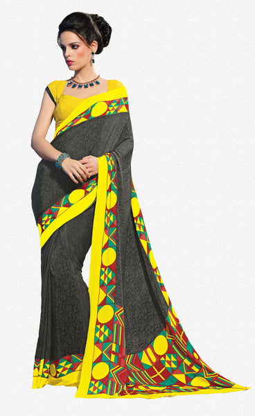 atisundar Superb Black Colored Saree - 3494 - atisundar - 2 - click to zoom