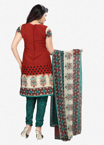 Printed Suits:atisundar appealing Brown Designer Printed Unstitched Suits - 6958 - atisundar - 3