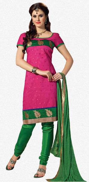 atisundar Karishma: Charismatic Unstitched Embroidered Straight Cut Salwar Kameez - 3746 - atisundar - 2 - click to zoom