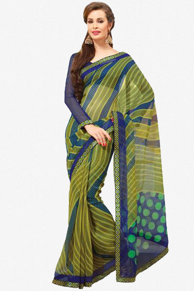 atisundar Great Multi Colored Saree - 3904 - click to zoom