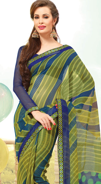atisundar Great Multi Colored Saree - 3904 - atisundar - 4 - click to zoom