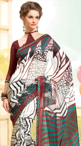 atisundar Superb Multi Colored Saree - 3910 - atisundar - 4 - click to zoom