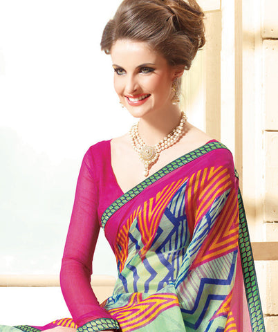 atisundar Wonderful Multi Colored Saree - 3911 - atisundar - 5
