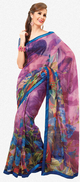 atisundar Gorgeous Multi Colored Saree - 3913 - atisundar - 2 - click to zoom