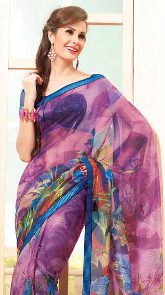 atisundar Gorgeous Multi Colored Saree - 3913 - atisundar - 4 - click to zoom