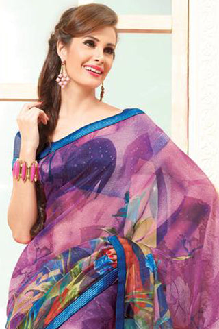 atisundar Gorgeous Multi Colored Saree - 3913