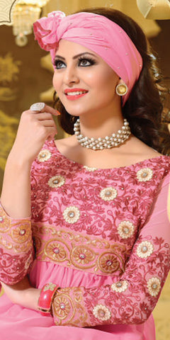 Urvashi Rautela Miss Universe Collection:atisundar Lovely   in Pink - 5248 - atisundar - 4