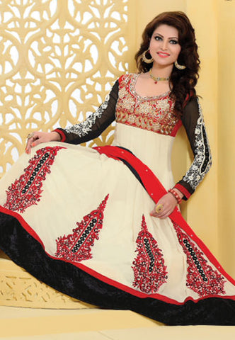 Urvashi Rautela Miss Universe Collection:atisundar graceful   in Off White - 5255 - atisundar - 3