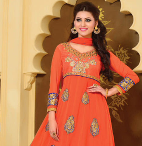 Urvashi Rautela Miss Universe Collection:atisundar marvelous   in Orange - 5256 - atisundar - 5