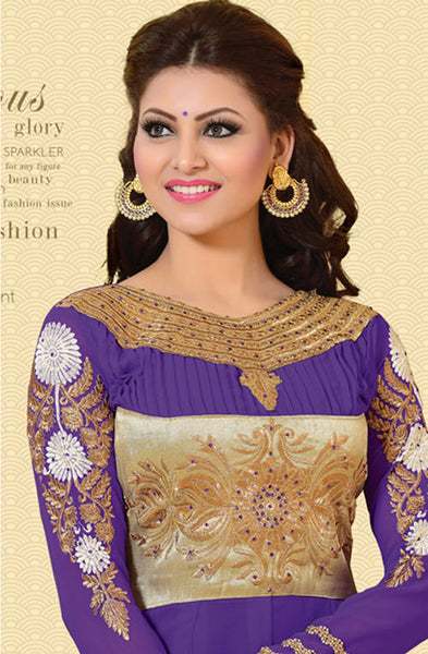 Urvashi Rautela Miss Universe Collection:atisundar Great   in Purple - 5257 - atisundar - 3 - click to zoom