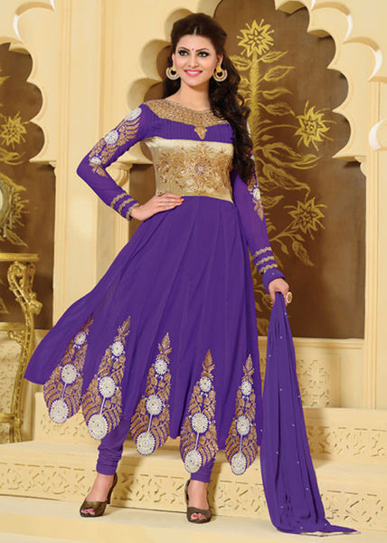 Urvashi Rautela Miss Universe Collection:atisundar Great   in Purple - 5257 - atisundar - 2 - click to zoom