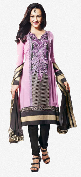 Siya Vijaya: Charming Unstitched Embroidered Anarkali Salwar Kameez - 4116 - atisundar - 1 - click to zoom