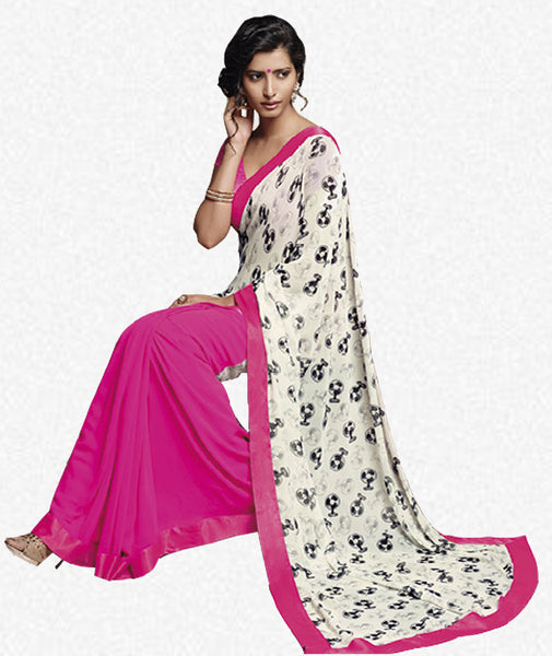 Florence:atisundar Pretty Pink Colored Saree - 4275 - atisundar - 3 - click to zoom