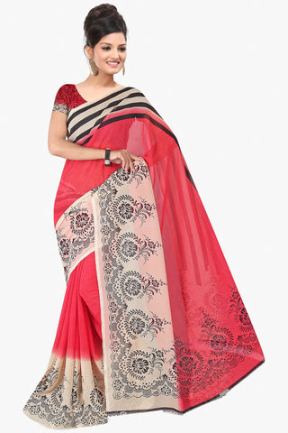 Designer Party wear Saree:atisundar marvelous Designer Sarees in Red  - 11416 - atisundar - 1 - click to zoom