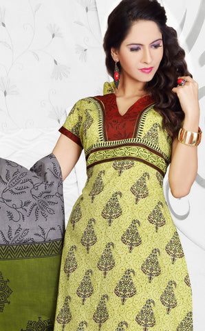 Siya Maharani:atisundar Darshini: Awesome Unstitched Salwar Kameez In Green - 4312 - atisundar - 4