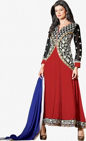 236b580fe41 The Sushmita Sen Collection  atisundar Rupali  Designer Embroidered Semi  stitched ...