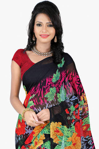 Designer Party wear Saree:atisundar Great Designer Sarees in Black  - 11424 - atisundar - 2