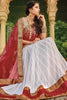 Designer Lehenga:atisundar superb Net Designer Party Wear Lehenga in White - 11842 - atisundar - 5 - click to zoom