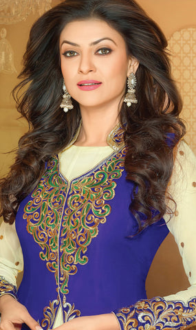 Mayeri Featuring Sushmita Sen:atisundar admirable   in Blue And Cream  - 4868 - atisundar - 3