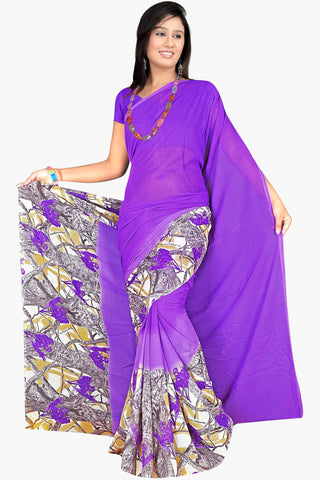 Designer Party wear Saree:atisundar admirable Designer Sarees in Purple  - 11439 - atisundar - 1 - click to zoom