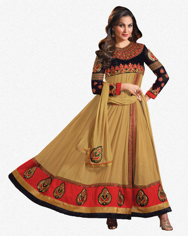 Lara Dutta Collection:atisundar gorgeous   in Beige - 4970 - atisundar - 1 - click to zoom