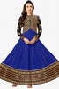 The Karishma Kapoor Collection:atisundar fair Blue embroidered Party Wear Anarkali - 6787 - click to zoom