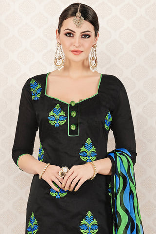 Designer Straight Cut:atisundar admirable Black Stylish Casual Wear Straight Cut - 12762