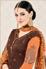 Designer Straight Cut:atisundar beauteous Brown Stylish Casual Wear Straight Cut - 12765 - click to zoom